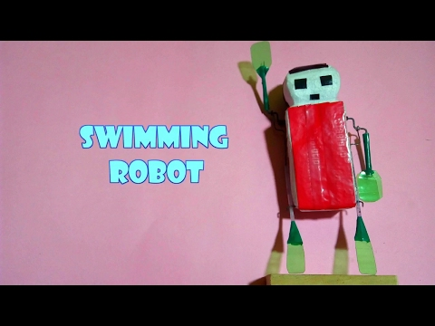 how to make a robot ( swimmer robot)
