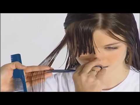 Haircut for round face women / Haircut for long hair women