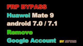 huawei y6 pro google account bypass | frp bypass | no need computer