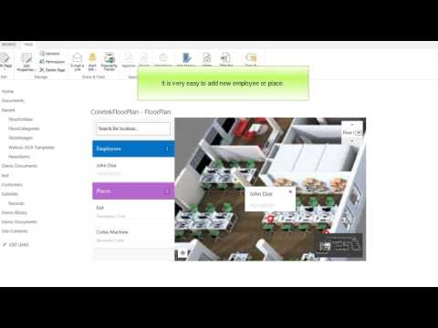 SharePoint Floor Plan