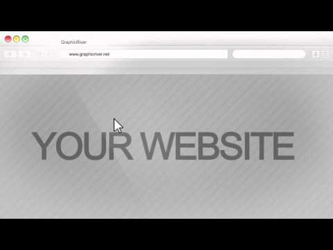Your Website Advertisement After Effects Template