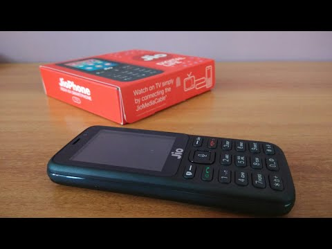 Jio phone Unboxing and quick overview with Camera sample ✓