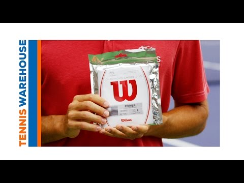 Gear Up with Tennis Warehouse - Hybrid Strings