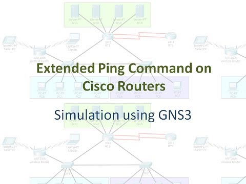 Extended Ping Command on Cisco Routers