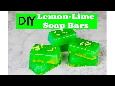 Lemon-Lime Soap Bars