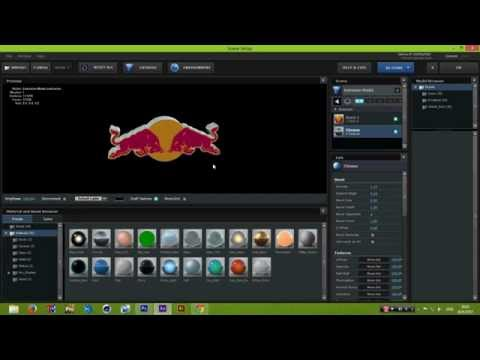 Photoshop And Element3D-Creating 3D Logos with texture