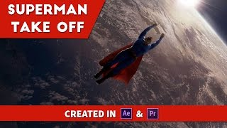 After Effects: Superman Take Off