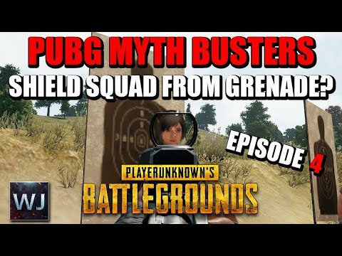 PUBG MYTH BUSTERS #4: SHIELDING squad from grenades, SUPPRESSOR damage and SILENT vehicle disable