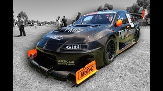 This 800hp Evo is nearly 100% Carbon Fibre. It weighs only 1000kg, and it