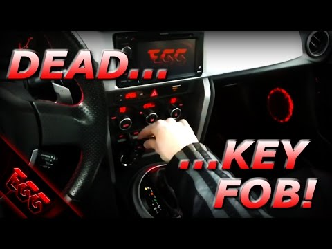 BRZ Dead Key Fob / How to Replace Key Fob Battery