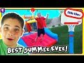 Top 10 Ideas For Best Summer Ever Obstacle Course With Little Tikes Toys By Hobbykidstv mp3