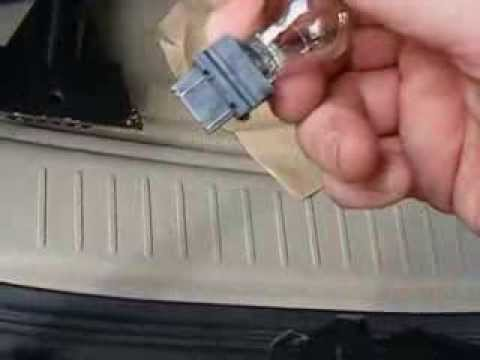 ford escape rear turn signal bulb replacement