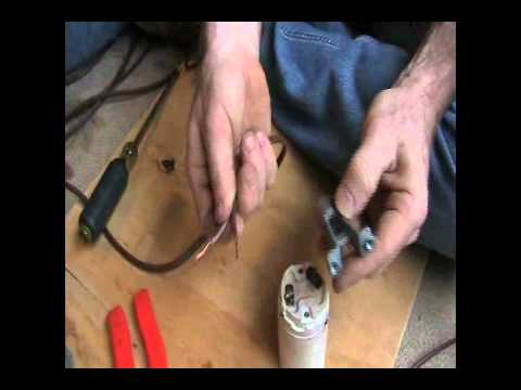 How to re-wire an old floor lamp