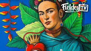 The Best Street Art Mural I Ve Painted Frida Kahlo And Diego Rivera T
