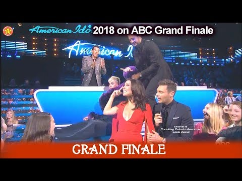 Katy Perry Has To Be Dragged Away From Her Crush Bachelorette Becca  American Idol 2018 Grand Finale