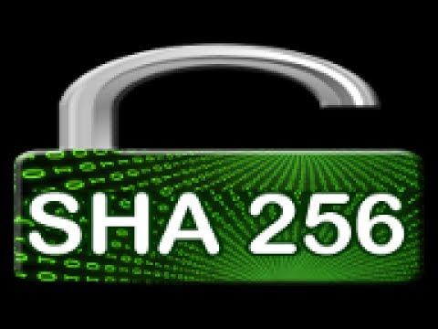 How to check the SHA 256 Checksum