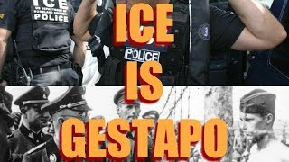 ICE is GESTAPO: Forcing Parents into Prison Labor Camps, While Their Children Are Taken Away