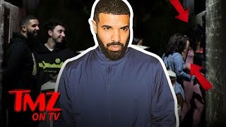 Drake Hits The Club With A BUNCH Of Hunnies   TMZ TV