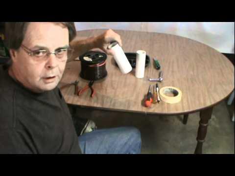 Ham Radio 40/80 Meter Inverted V Dipole Antenna