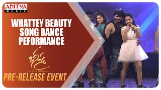 Whattey Beauty Song Dance Peformance @ Bheeshma Pre Release Event | Nithiin, Rashmika