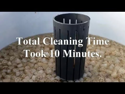Cleaning The Pro Filter In Real Time.