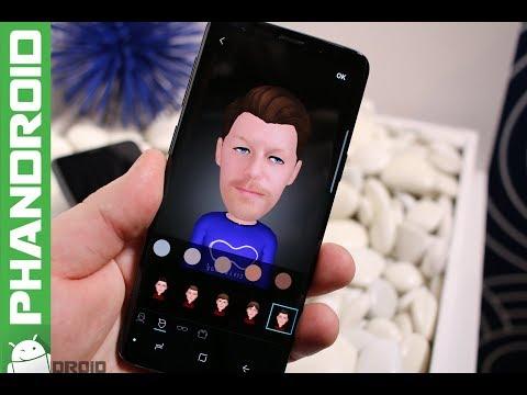 AR Emoji Demo on the Samsung Galaxy S9