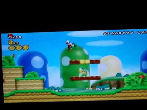 How To Unlock The Cannon In New Super Mario Bros Wii World 1