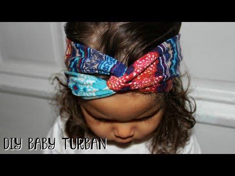 EASY DIY | BABY TURBAN HEADBAND