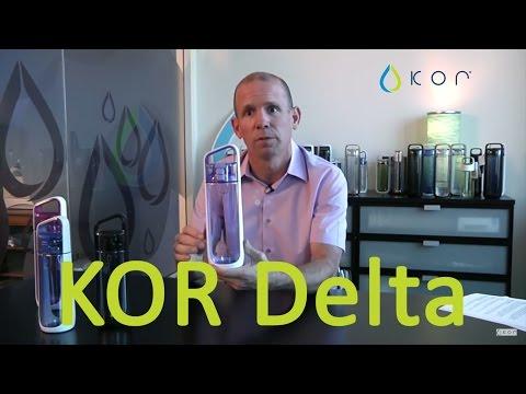 KOR Delta: High Style, High Performance Reusable BPA Free Water Bottle