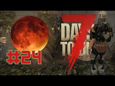 7 Days to die   Pangatlong BLOOD MOON #24 (TAGALOG) ZOMBIE BARBECUE