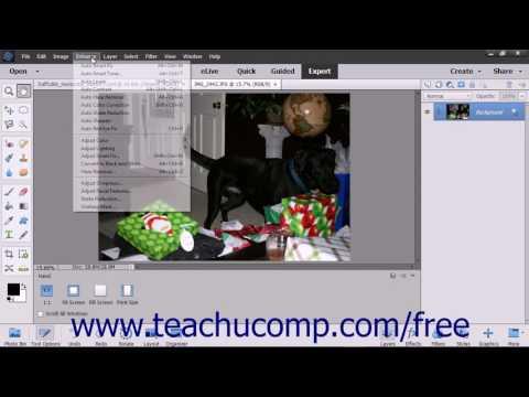 Photoshop Elements 15 Tutorial Adjust Skin Tone Adobe Training