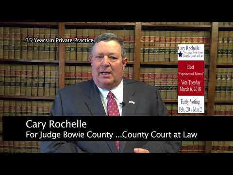Cary Rochelle ...What is County Court at Law?
