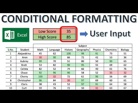Excel Conditional Formatting Based on Another Cell Tutorial