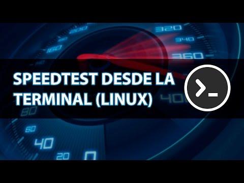 Como medir la velocidad de internet en Debian, Ubuntu, Linux Mint desde la terminal