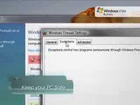 Microsoft Windows Vista Security Tip - Windows Firewall