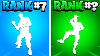 Top 10 Most DISRESPECTFUL Emotes In Fortnite Chapter 2