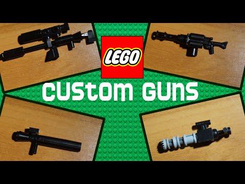 LEGO How to make Custom Guns (New)
