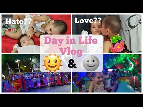 SAHM Day in Life with a Toddler and a Newborn | Two under Two| Indian Vlogger | Mom N Me