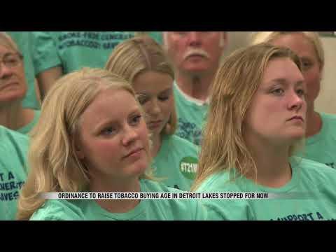 News Detroit Lakes Smoking Age Vote
