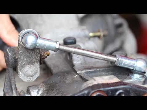 Only 944 Porsche 944 Gear Shifter Linkage compared to standard gear change