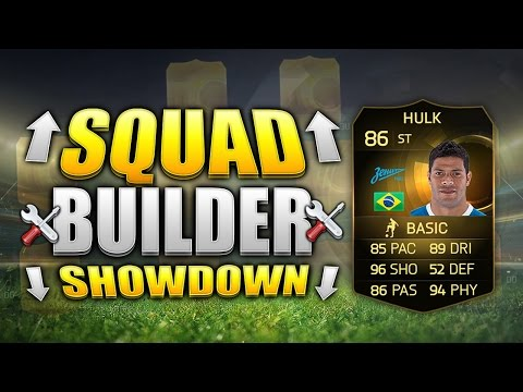 FIFA 15 SQUAD BUILDER SHOWDOWN!!! STRIKER INFORM HULK!!! IF Striker Hulk Fifa 15 Squad Building Duel