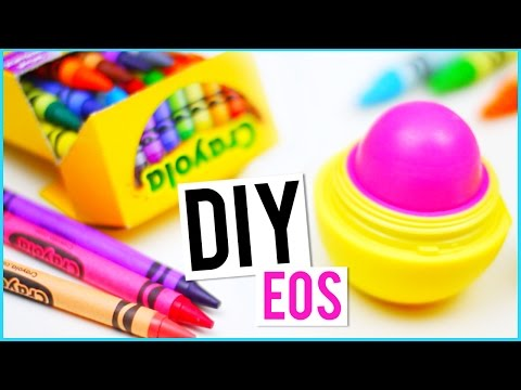 DIY EOS out of CRAYONS!
