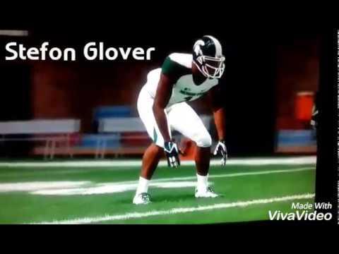 Madden 25/NCAA 14 Football CornerBack Stefon Glover Michigan State Spartans/Chicago Bears Highlights