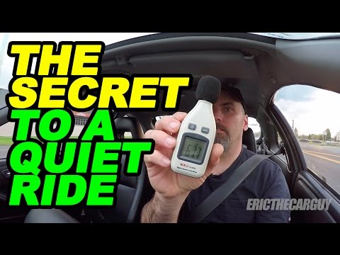 The Secret to a Quiet Ride