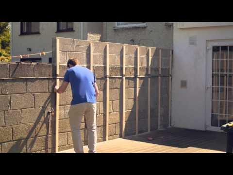 Celuplast Garden Wall Cladding