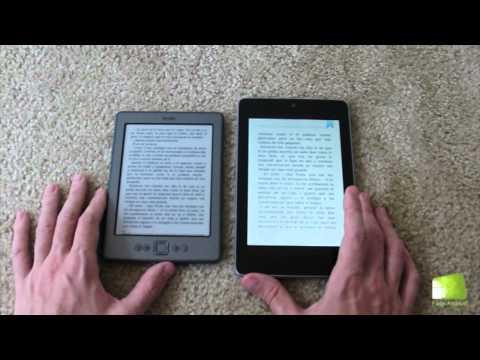 Comparativa Nexus 7 vs Kindle - Lector de ebooks | FAQsAndroid.com