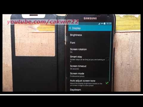 Samsung Galaxy S5 : How to turn on increase touch sensitivity (Android Phone)
