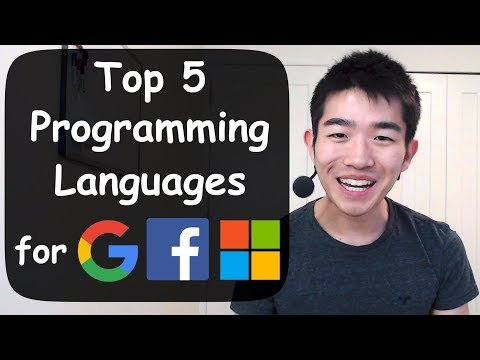 Top 5 Programming Languages to Learn to Get a Job at Google, Facebook, Microsoft, etc.