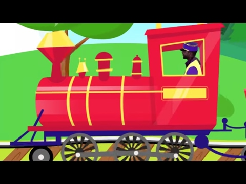 Captain Ace Zoomy Sings Steam Train With Lyrics ✈ Songs for Kids Song Children To Sing And Dance