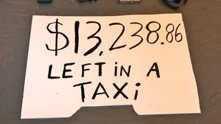 $13,238.86 left in a NYC taxi
